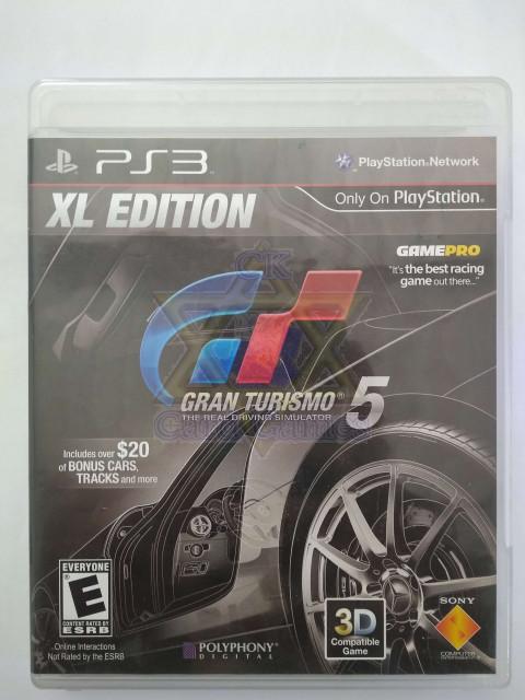 Gran Turismo 5 XL Edition - Jogo - PS3 (Seminovo)