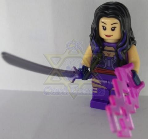 Psylocke - Marvel - Miniatura - Blocos