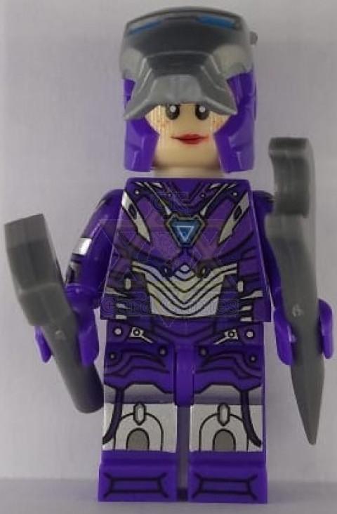 Mulher de Ferro MK XLIX - Marvel - Miniatura - Blocos