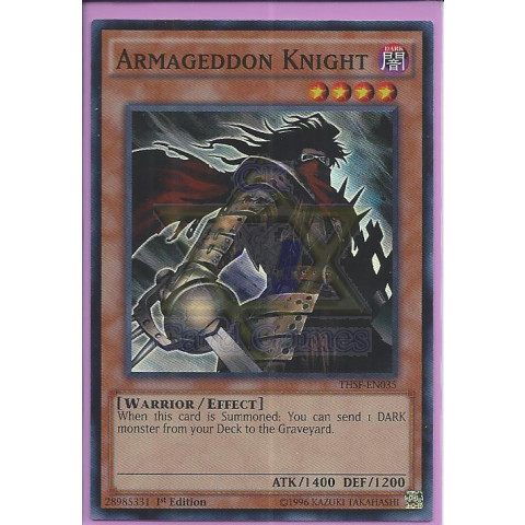 Cavaleiro do Armagedom / Armageddon Knight