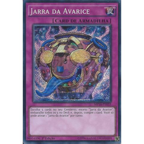Jarra da Avarice / Jar of Avarice - YGO MP16-PT033 Secret R 1Ed