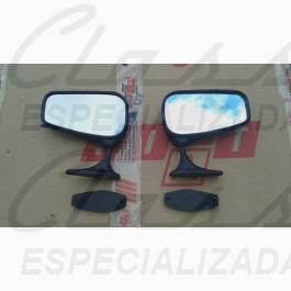 PAR ESPELHO RETROVISOR FAMILIA FIAT 147 78/83 ORIGINAL