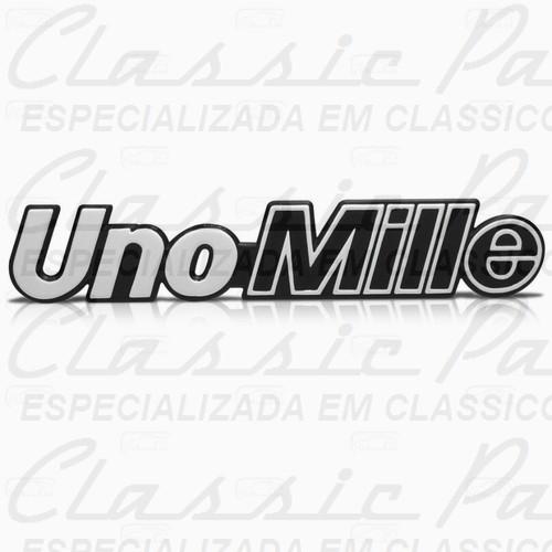 EMBLEMA FIAT UNO MILLE 2P 91/93 MILLE BRIO