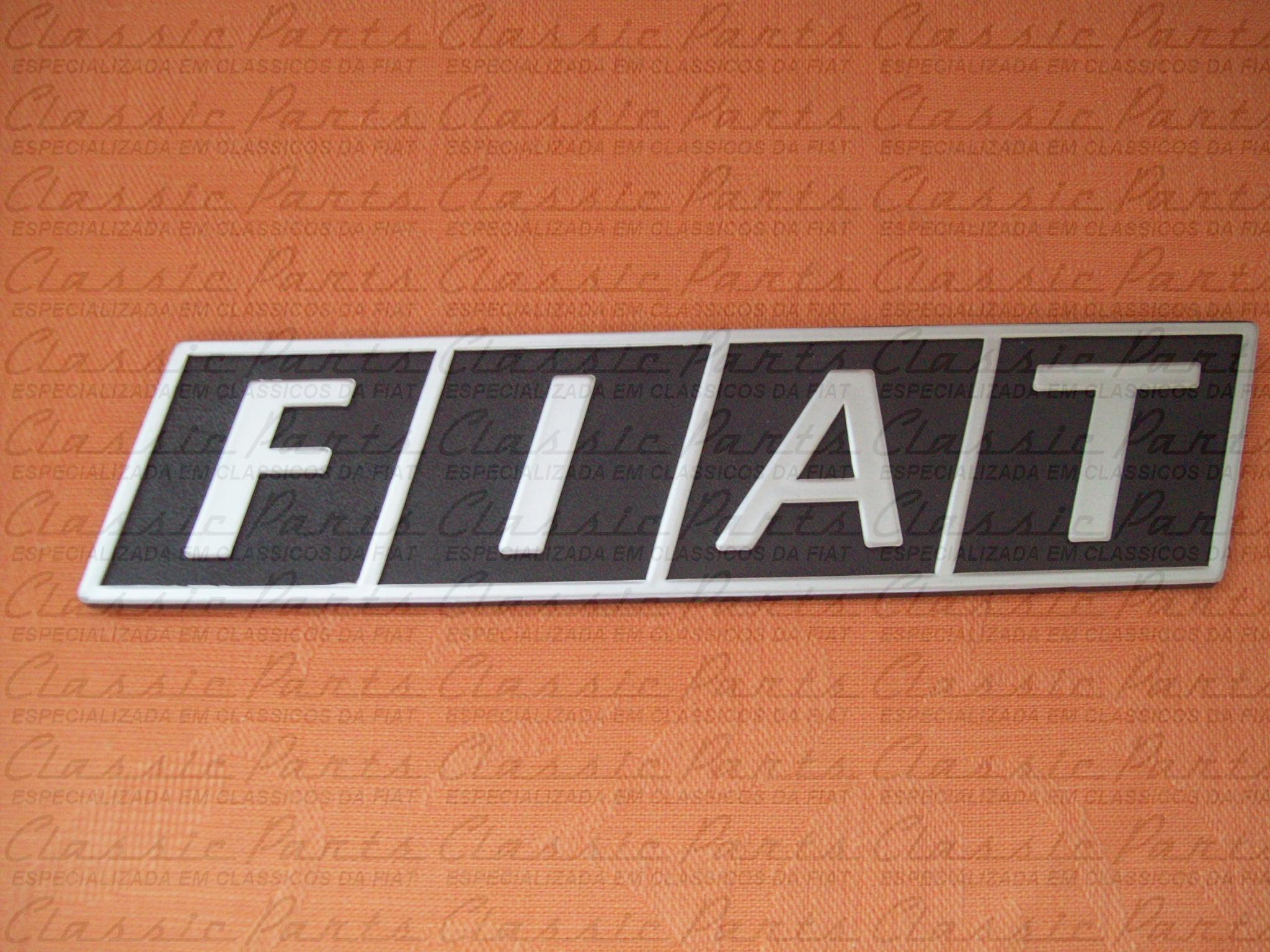 """EMBLEMA """"FIAT"""" 147 FIORINO FURGÃO"""