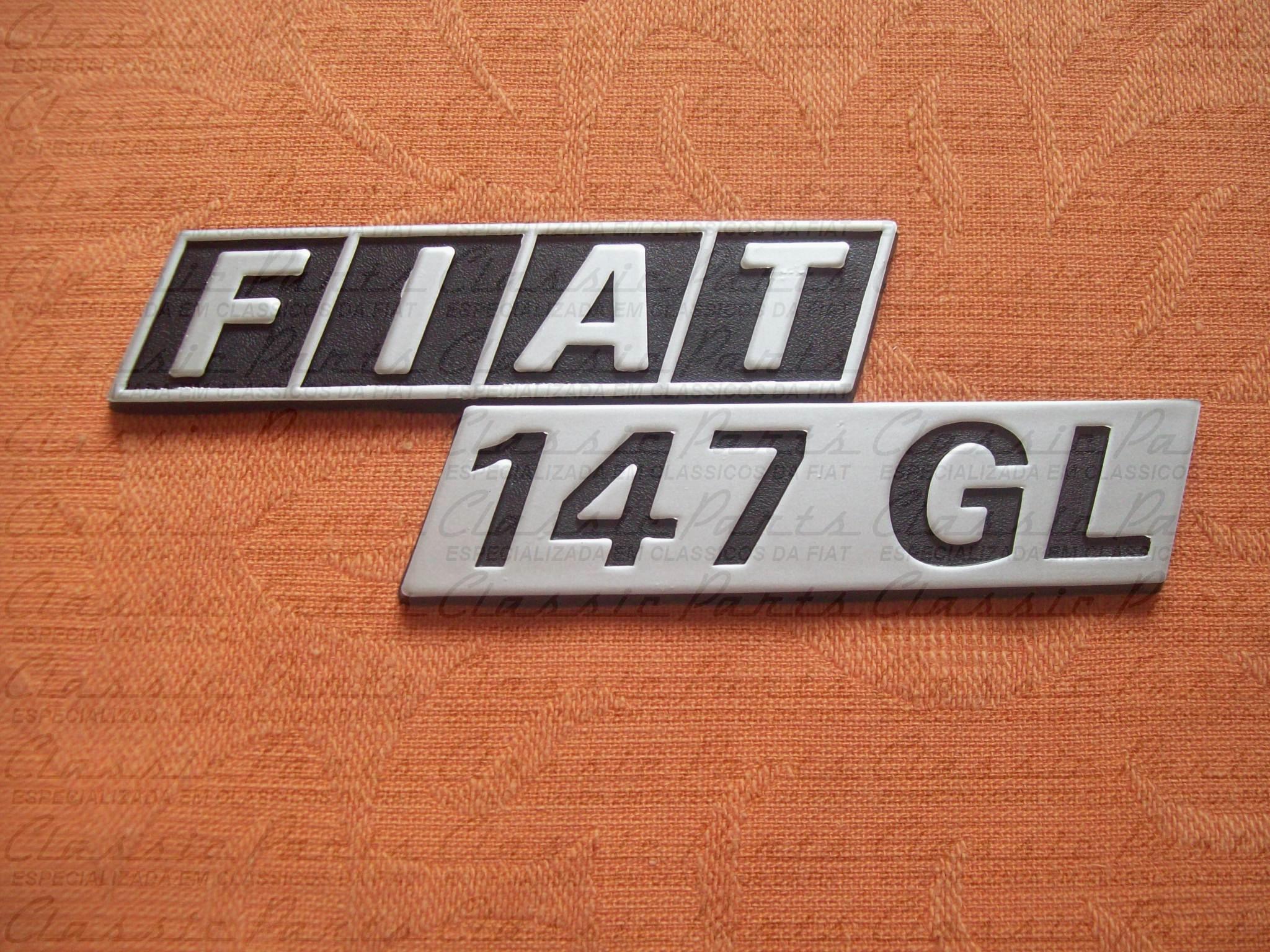 EMBLEMA - FIAT 147 GL