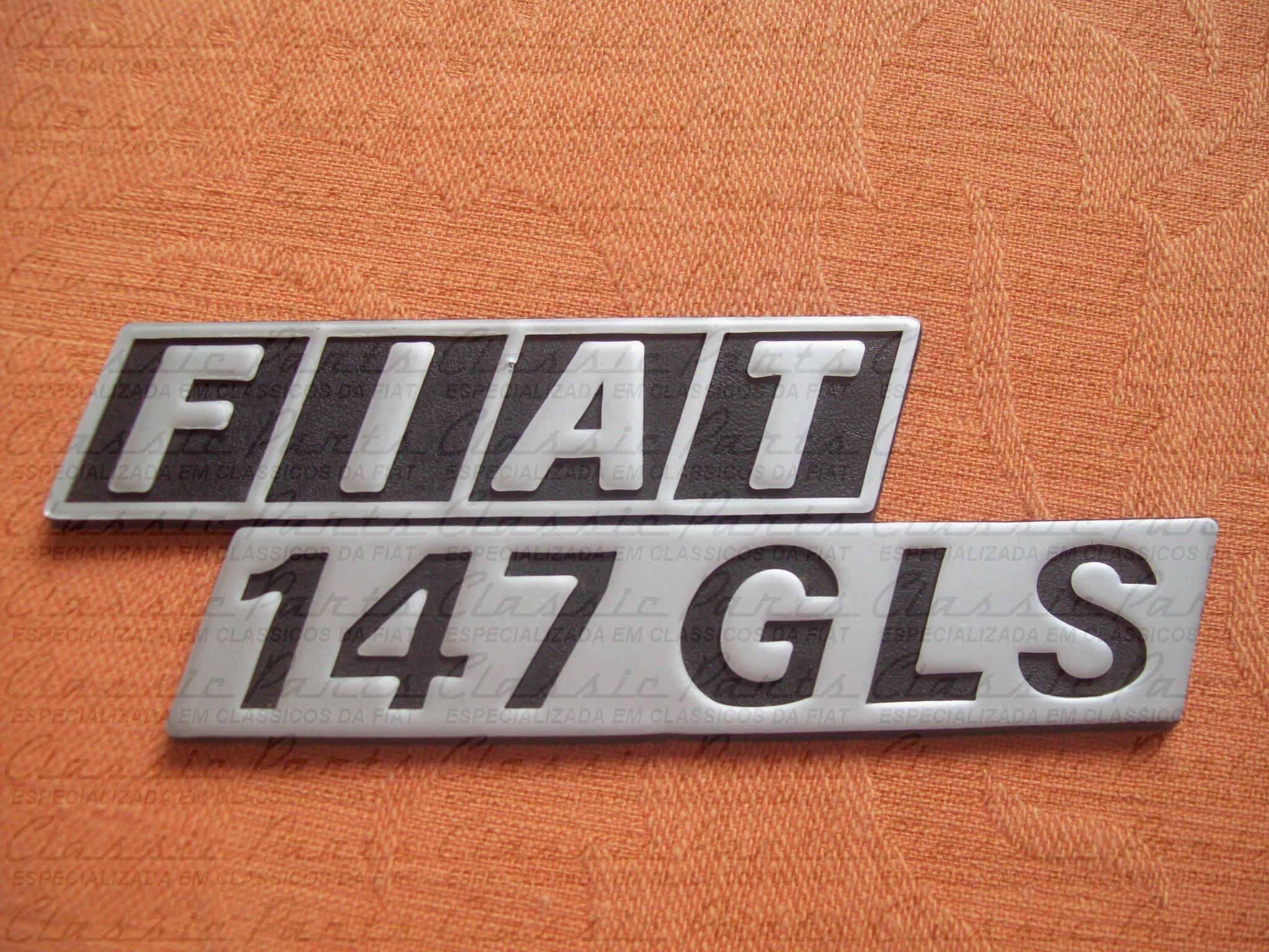 EMBLEMA - FIAT 147 GLS