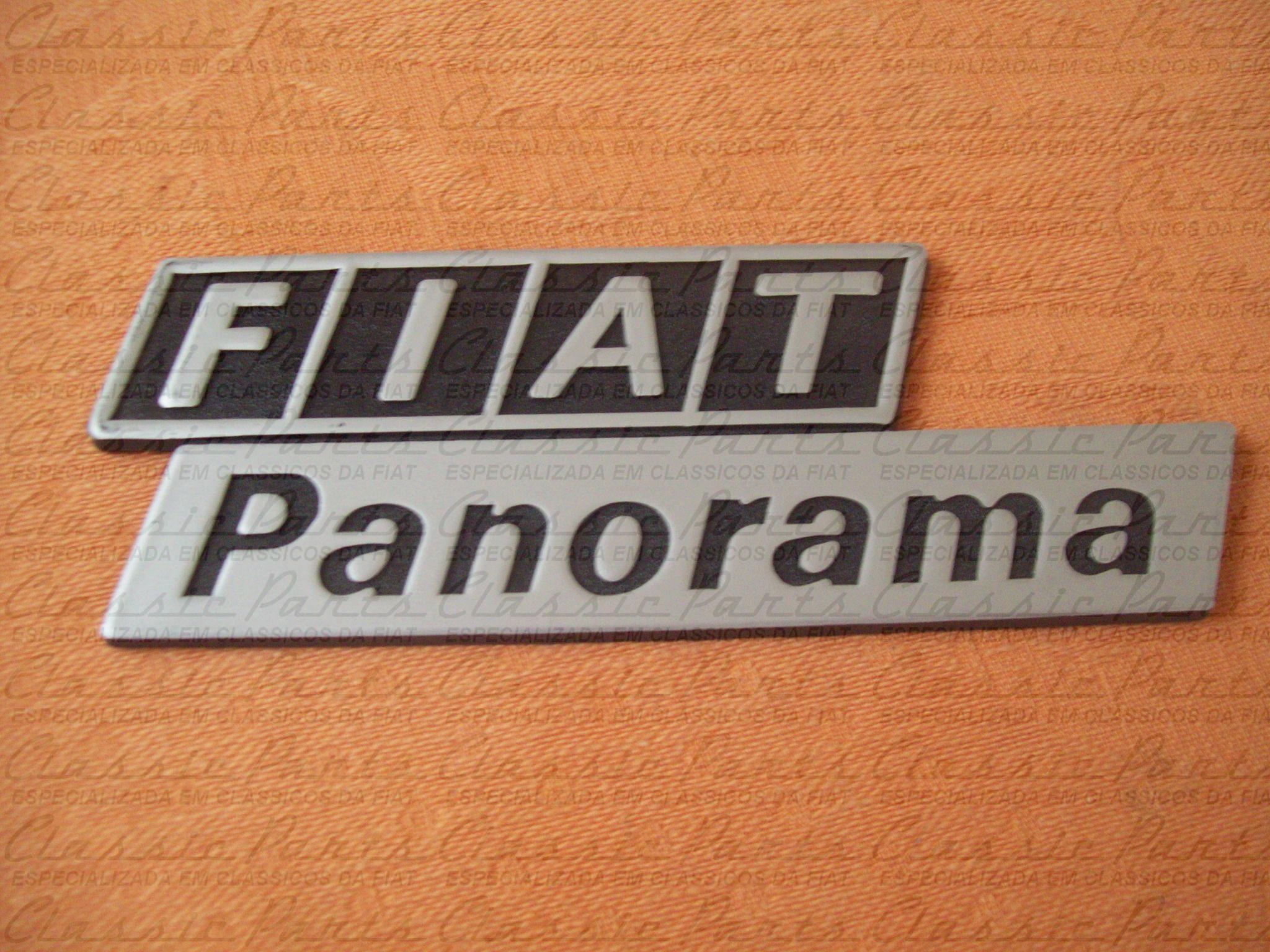 EMBLEMA FIAT PANORAMA