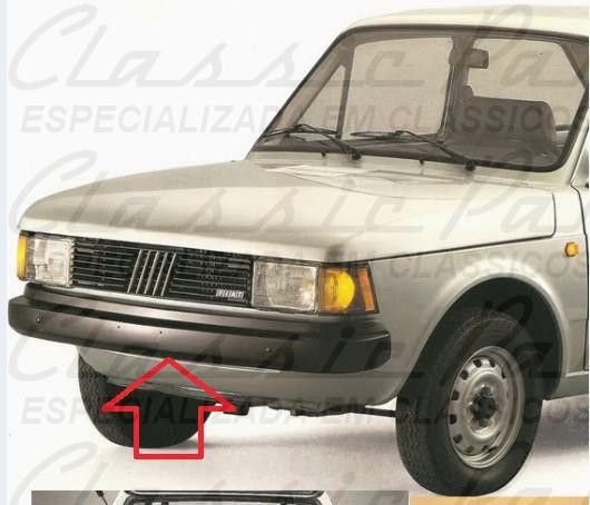 PARACHOQUE DIANTEIRO FIAT 147-C 85-86 / CITY / FIORINO ORIGINAL