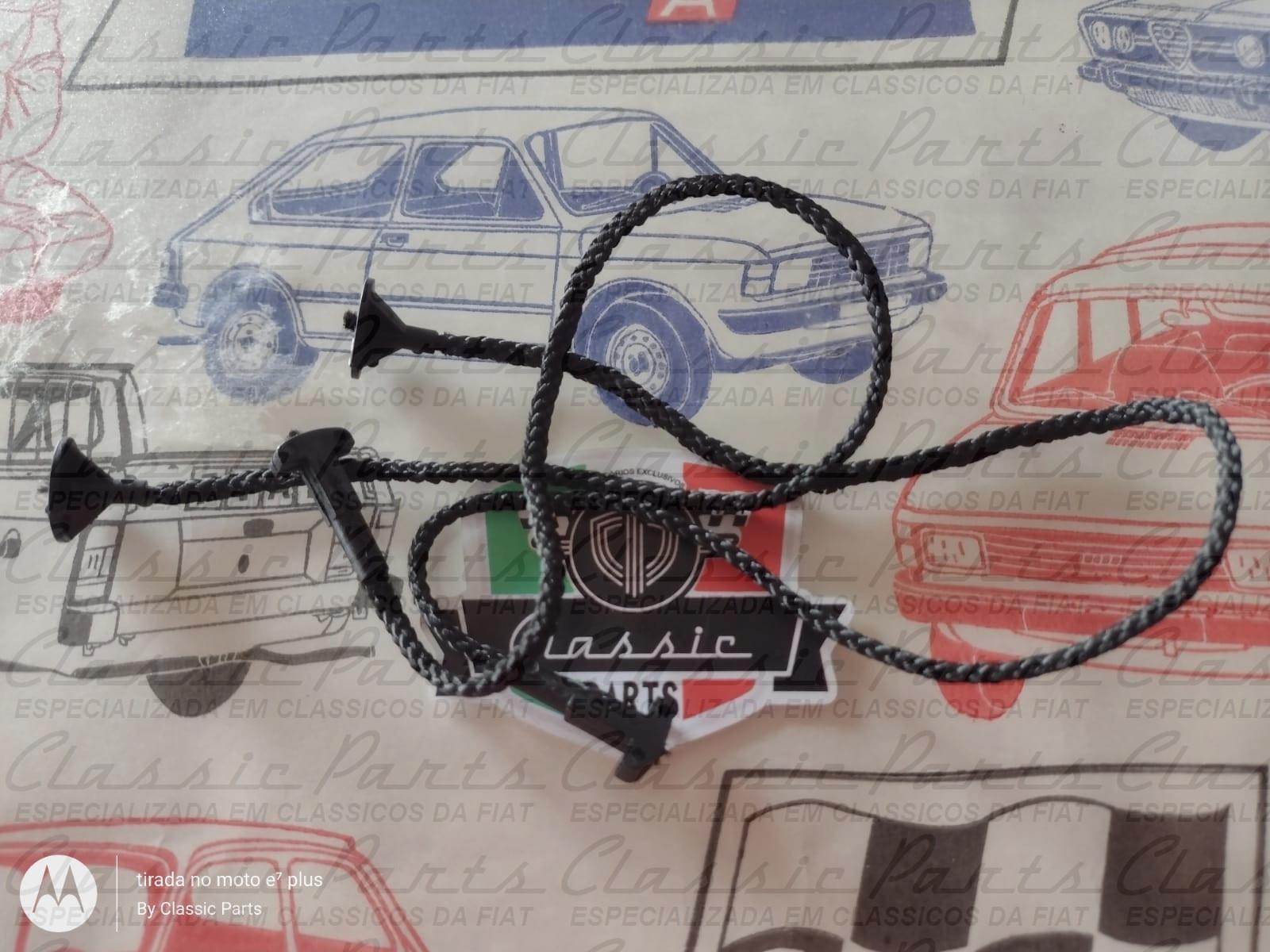 (5993265) PAR CORDINHA BAGAGITO FIAT UNO - ELBA - MILLE ORIGINAL