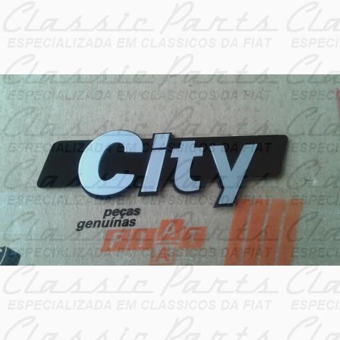 "EMBLEMA FIAT 147 PICK UP ""CITY"" MODELO ORIGINAL"