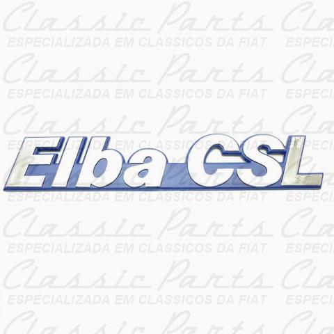 EMBLEMA AZUL/CROMADO FIAT < ELBA CSL >