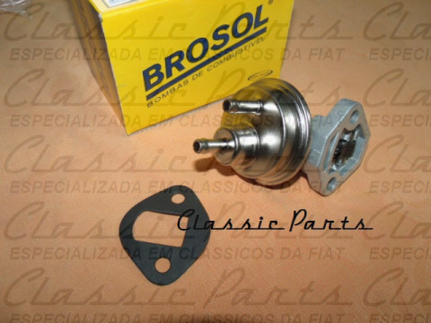 BOMBA COMBUSTIVEL (ALC/GAS) BROSOL FAMILIA FIAT 147/UNO ORIGINAL