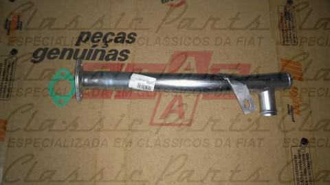 CANO DAGUA TUBO REFRIGERACAO C/ JUNTA FAMILIA FIAT  147 UNO .../93 ORIGINAL