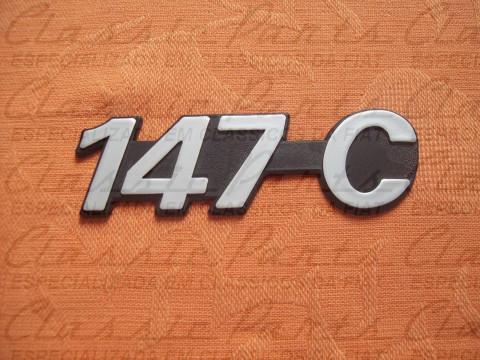 """EMBLEMA 83/... FIAT """"147 C"""""""