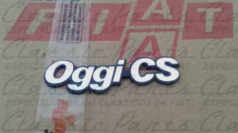 "EMBLEMA FIAT OGGI CS ""MODELO"" ORIGINAL"