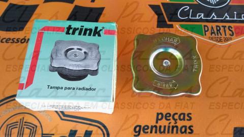 TAMPA RADIADOR (LATÃO) FAMILIA FIAT 147 DE ÉPOCA