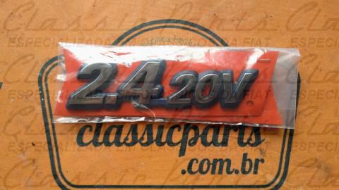 EMBLEMA LATERAL FIAT MAREA 2.4 20V ORIGINAL