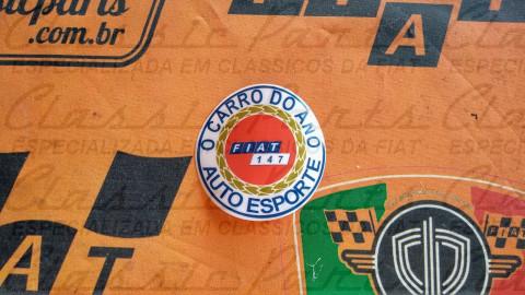 ADESIVO VIDRO CARRO DO ANO FAMILIA FIAT 147