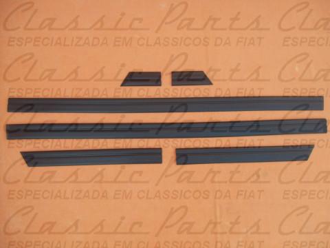 JOGO FRISO BORRACHAO (PERFIL BAIXO) FAMILIA FIAT 147