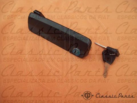 MACANETA EXTERNA PRETA C/ CHAVES LD FAMILIA FIAT 147