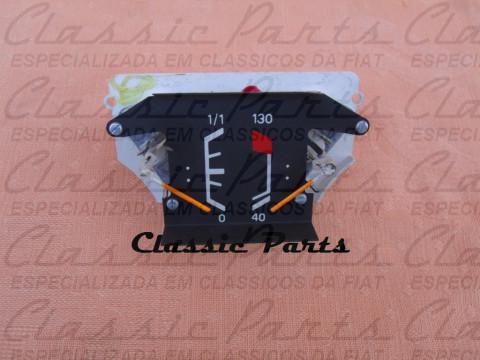 (7501468) MARCADOR TEMPERATURA COMBUSTÍVEL FIAT 147 RALLYE - RACING - GLS - TOP - ORIGINAL
