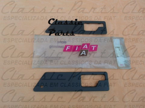 (180942280) MOLDURA MACANETA INTERNA PORTA TRASEIRA LE FIAT PREMIO CLS 87/89 ORIGINAL