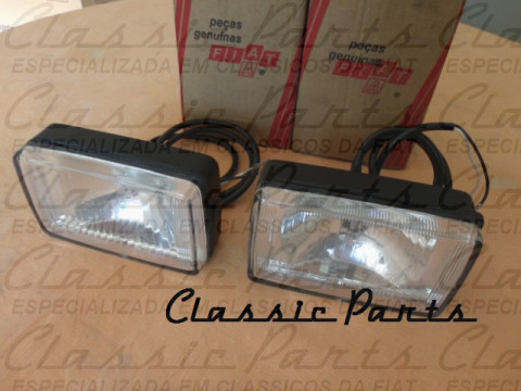 PAR FAROL MILHA SUPERIOR FIAT FIORINO PICK UP LX ORIGINAL