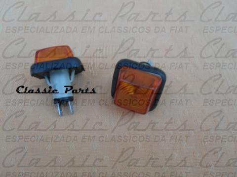 "PAR LANTERNA LATERAL PARALAMA ""AMB"" FAMILIA FIAT 147 ALFA ROMEO 2300"