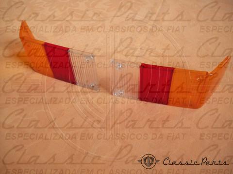 PAR LENTE CANTO LANTERNA TRASEIRA FIAT 147C 86/SPAZIO/OGGI ORIGINAL