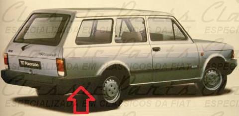 PARACHOQUE TRASEIRO FIAT PANORAMA 83/... - CITY ORIGINAL*