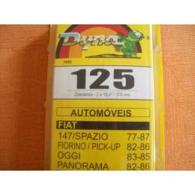 PAR PALHETA LIMPADOR DIANT 125 FAMILIA FIAT 147 ORIGINAL