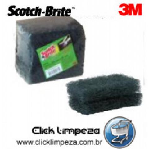 3M Scotch Brite - Fibraço para Limpeza de Chapas - Pct c/ 05 unids.