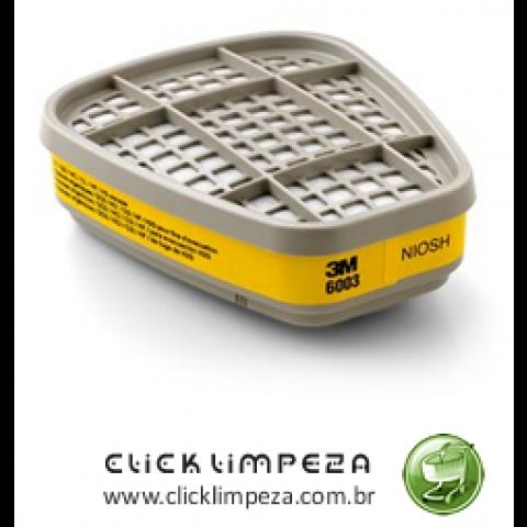 EPI - 3M Cartucho Químico 6003 para Vapores Organicos- par