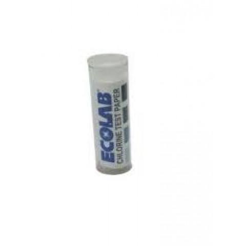 Fita Teste Cloro Test Paper Chlorine Ecolab ate 200PPM c/200tiras(02tubos)
