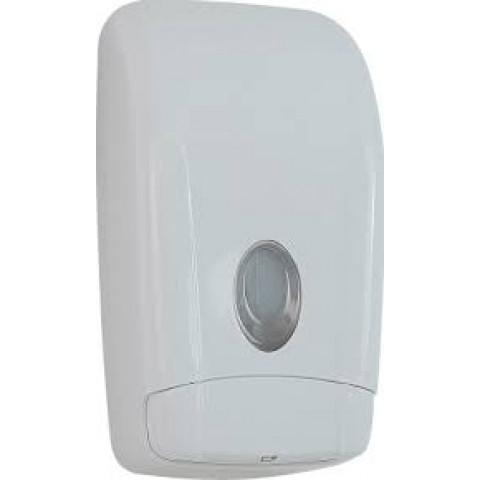 Saboneteira Porta Sabonete Dispenser 800ml c/reservatorio - un Parede Branca