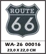 WA26-00016 - BORDADO ROUTE 66 G