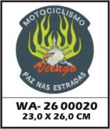 WA26-00020 - BORDADO AGUIA VIRAGO