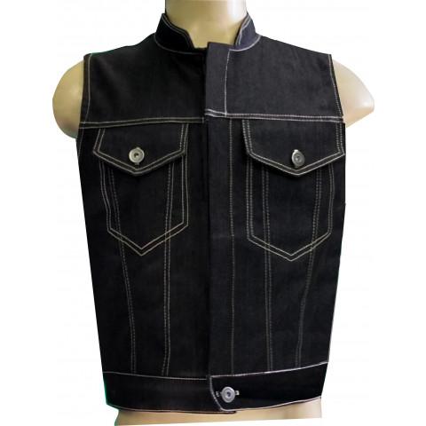 Colete Modelo Sons Of Anarchy em Jeans