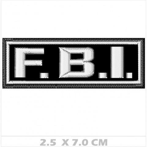WA01-00017 BORDADO FBI 7 cm
