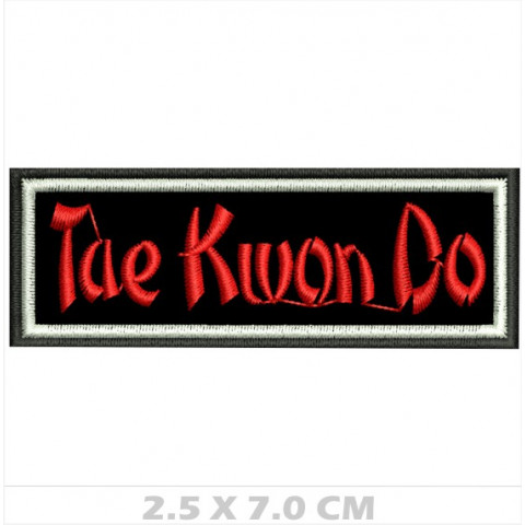 WA01-00032 BORDADO TAE KWON DO