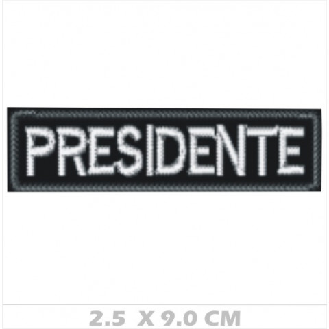WA01-00035  BORDADO PRESIDENTE