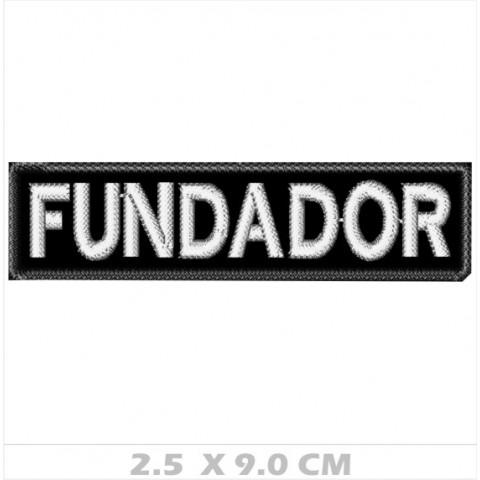 WA01-00040 - BORDADO FUNDADOR