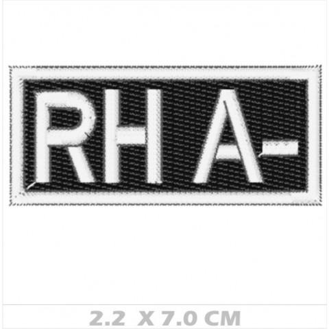 WA01-00046 - BORDADO TIPO SANGUE RH A-