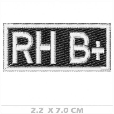 WA01-00046 - BORDADO TIPO SANGUE RH B+