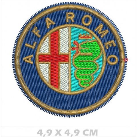 WA03-00026-  BORDADO ALFA ROMEO