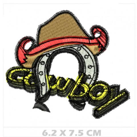 WA04-00047- BORDADO CHAPEU COWBOY