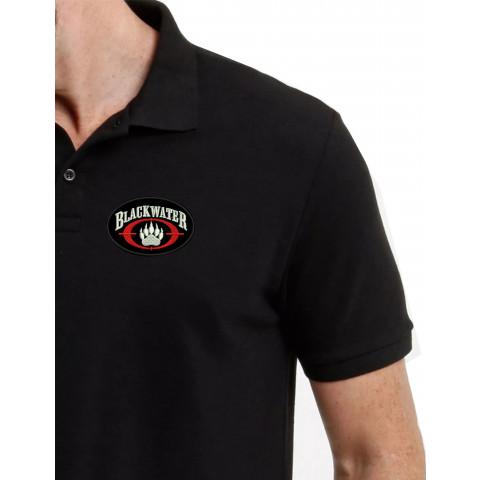 Camisa Polo Bordado Black Water
