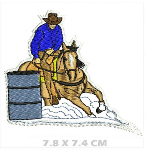 WA06-00041- BORDADO COWBOY TAMBOR