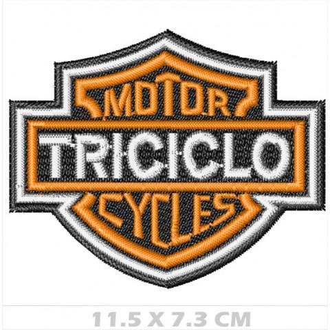 WA06-00152 - BORDADO BRASAO HD - TRICICLO