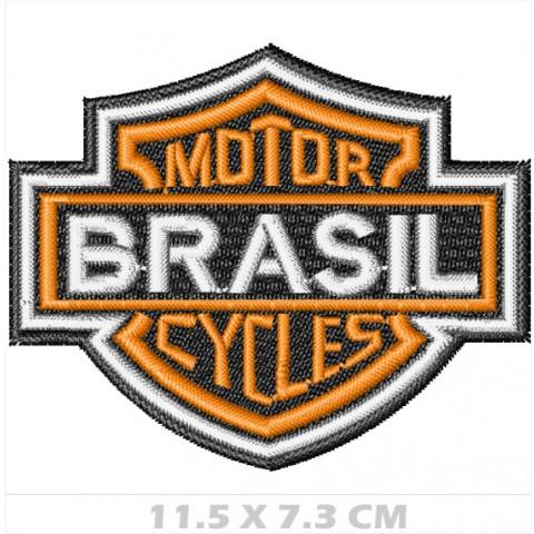 WA06-00153 - BORDADO BRASAO HD - BRASIL